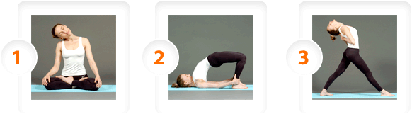 Example Yoga sequences